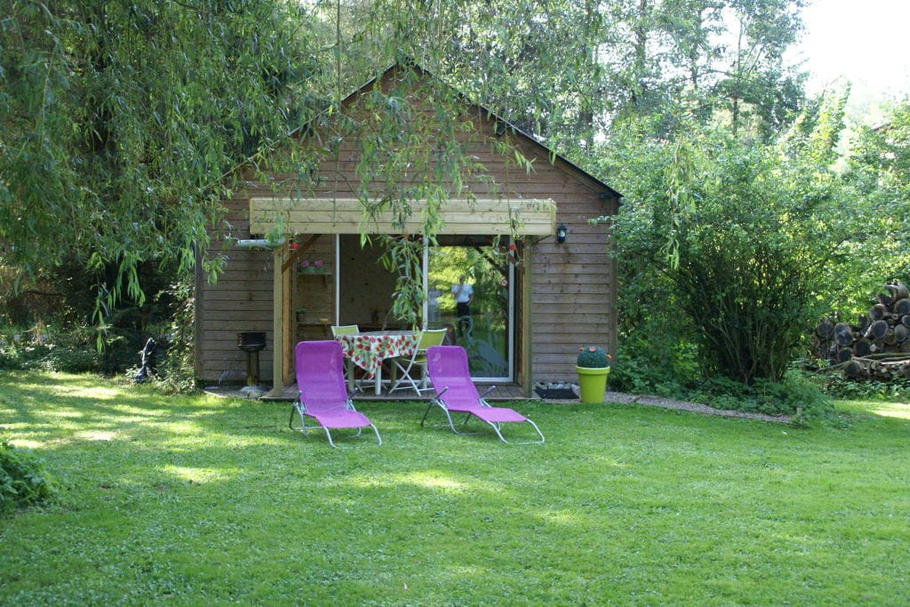 Prachtig vakantiehuis in Vitz-sur-Authie met tuin en vijver - Boerderijvakanties.nl
