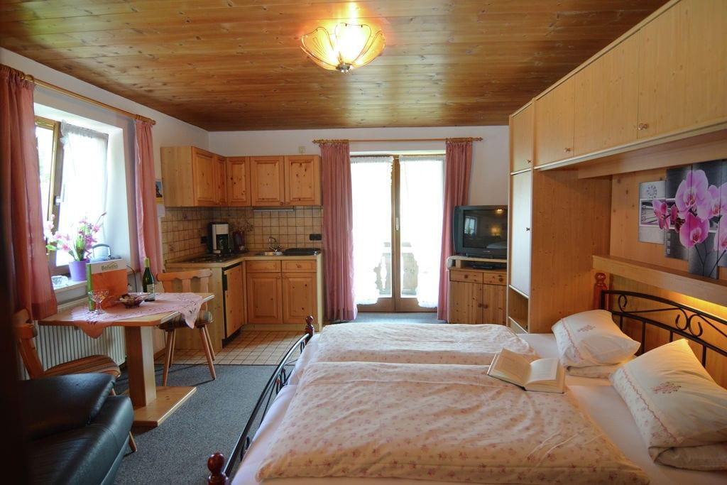 Appartement in de Ammergauer Alpen - tuin, zitje en in de directe omgeving van het meer - Boerderijvakanties.nl