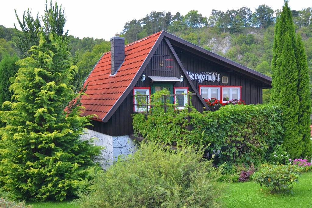 Authentiek vakantiehuis in het Harz met een weids uitzicht - Boerderijvakanties.nl