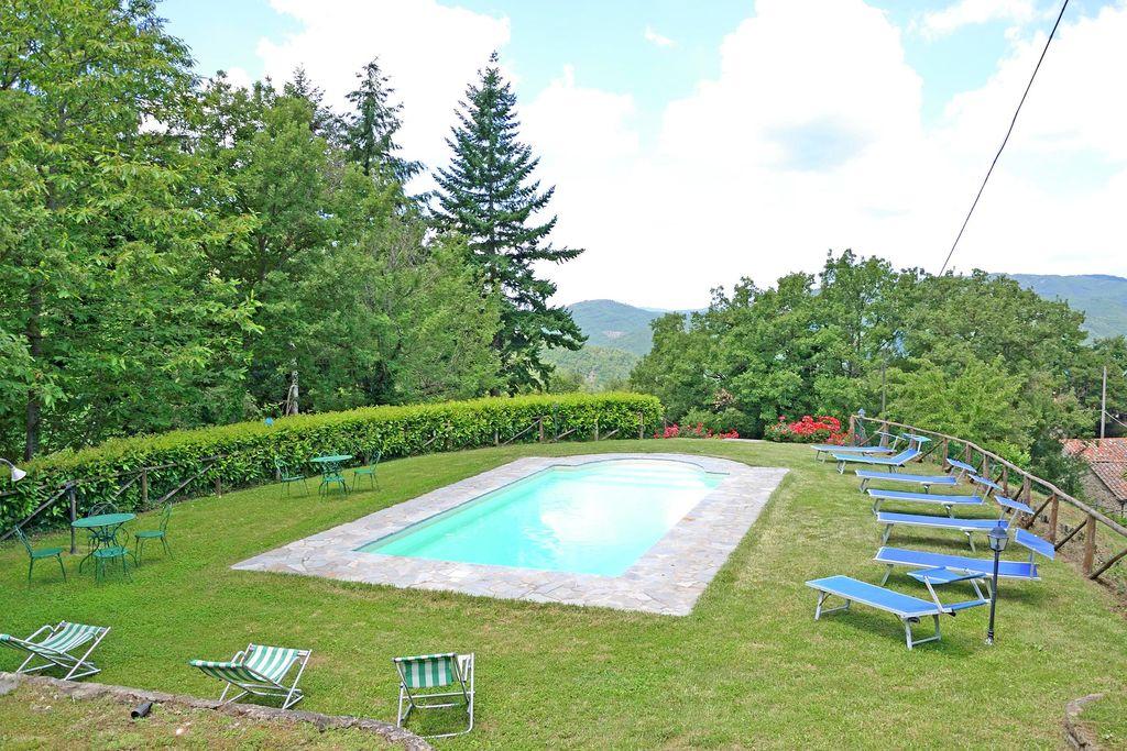 Gezellig vakantihuis in Cortona met privézwembad - Boerderijvakanties.nl