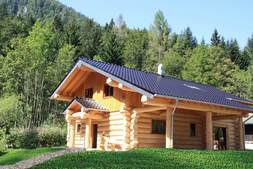 Unieke blokhut in skigebied Chiemgau met sauna - Boerderijvakanties.nl