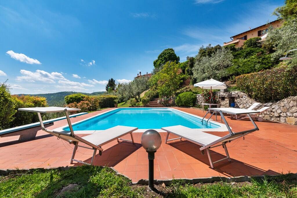 Authentieke villa in Carmignano met privézwembad - Boerderijvakanties.nl