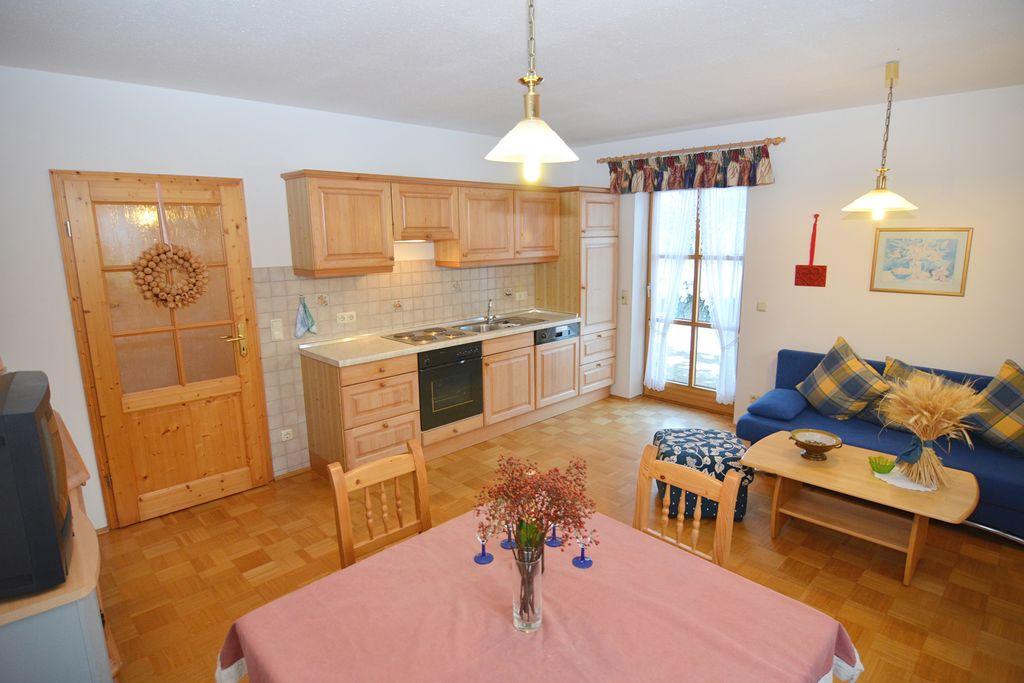 Ruim appartement in Schönsee met sauna - Boerderijvakanties.nl