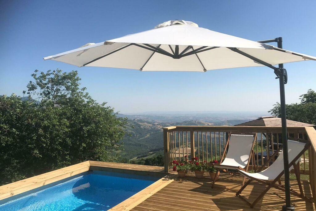 Vrijstaand vakantiehuis in de bergen van Corvara met zwembad - Boerderijvakanties.nl