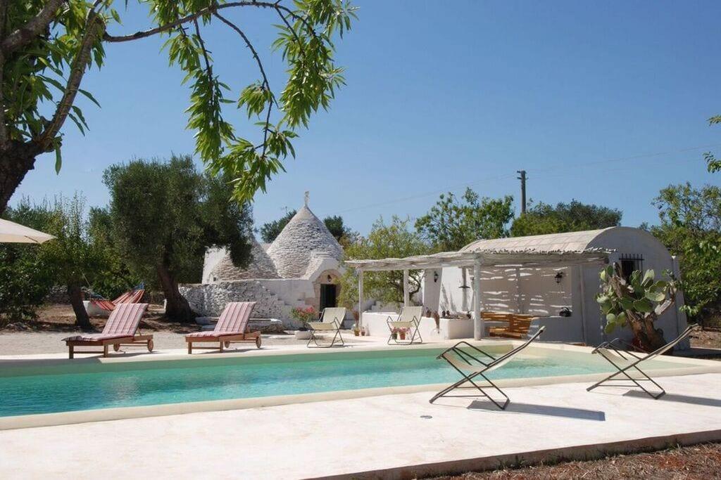 Ceglie-Messapica- Vakantiewoning met zwembad  met wifi te huur