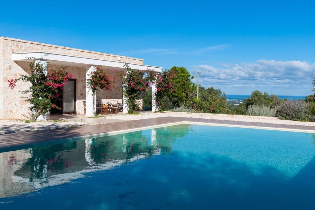 Monopoli- Villa met zwembad  met wifi te huur
