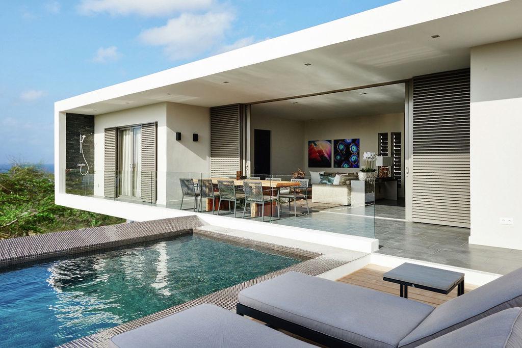 Vakantiehuis Jan Thiel 0 slaapkamers met zwembad nabij Strand met wifi