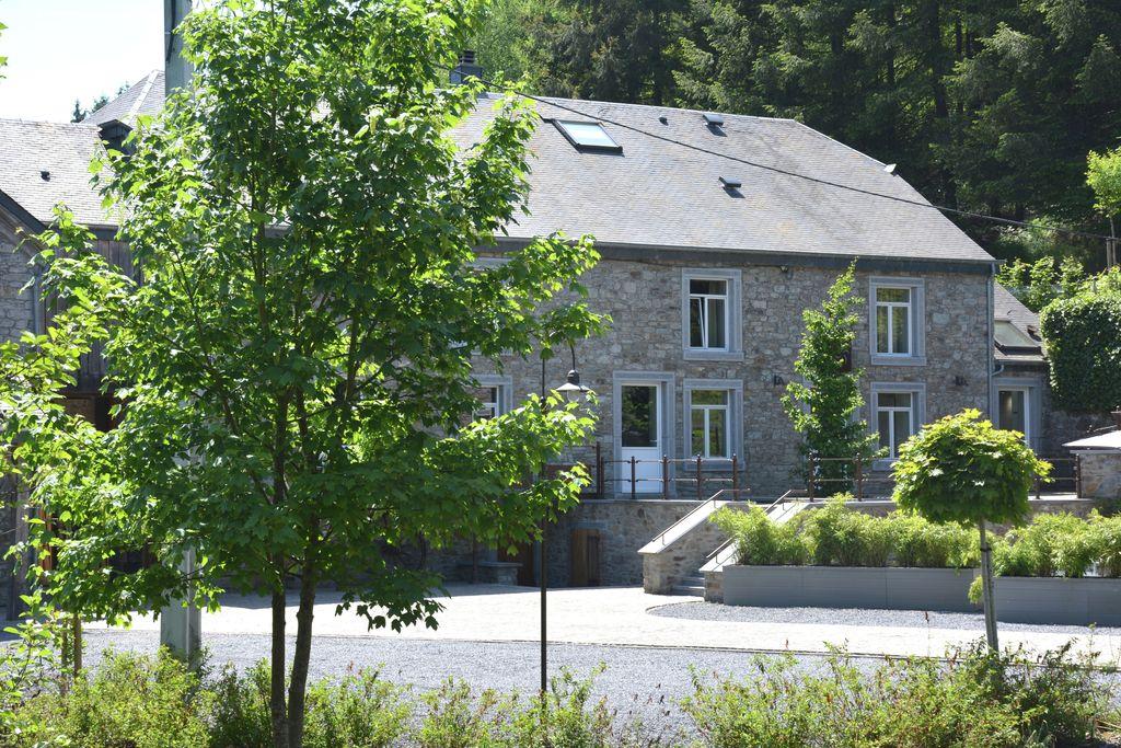 Gerenoveerde molen in Gedinne dicht bij het bos - Boerderijvakanties.nl