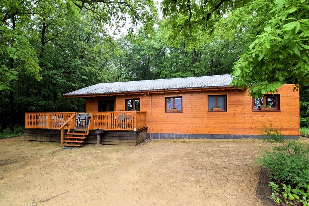 Mooi, rustig gelegen chalet met sauna, ruim terras en grote tuin rondom - Boerderijvakanties.nl