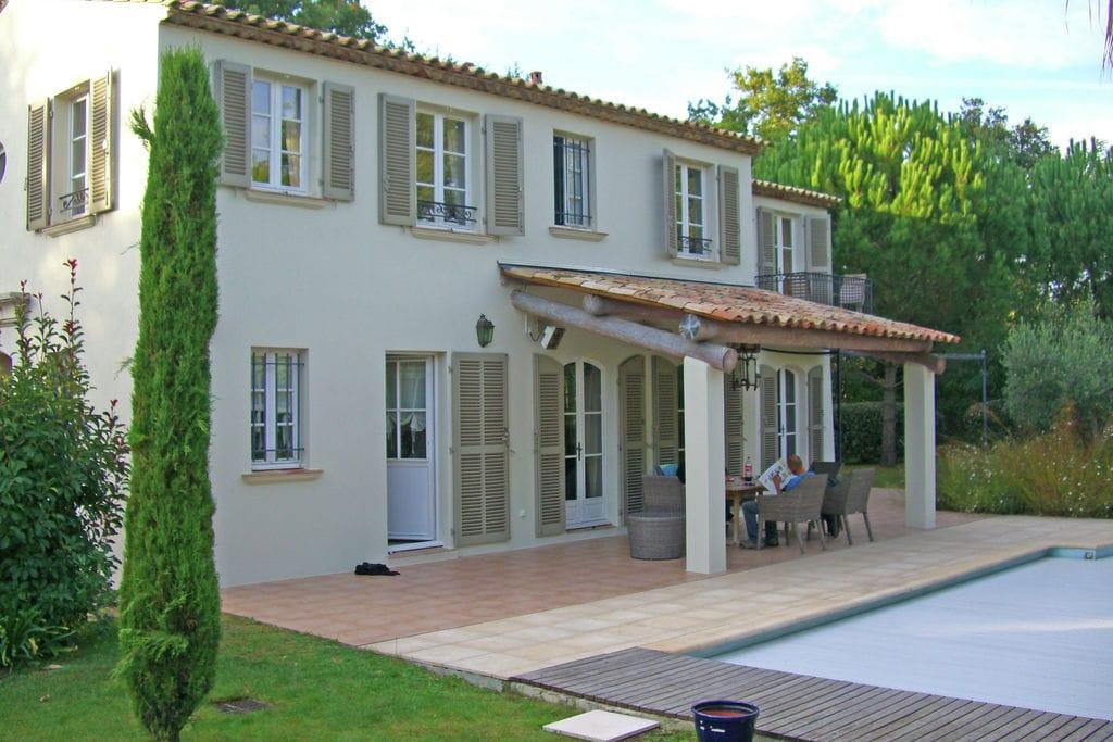 Mediterrane villa met privézwembad vlak bij St. Tropez - Boerderijvakanties.nl