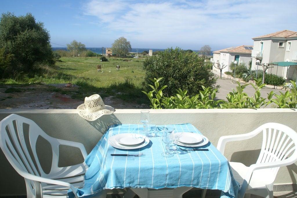 Cervione- Vakantiewoning met zwembad  met wifi te huur