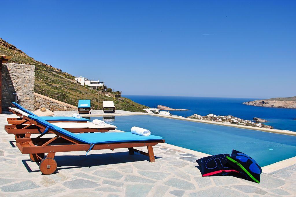 Mooie villa in Mykonos Griekenland met privézwembad - Boerderijvakanties.nl