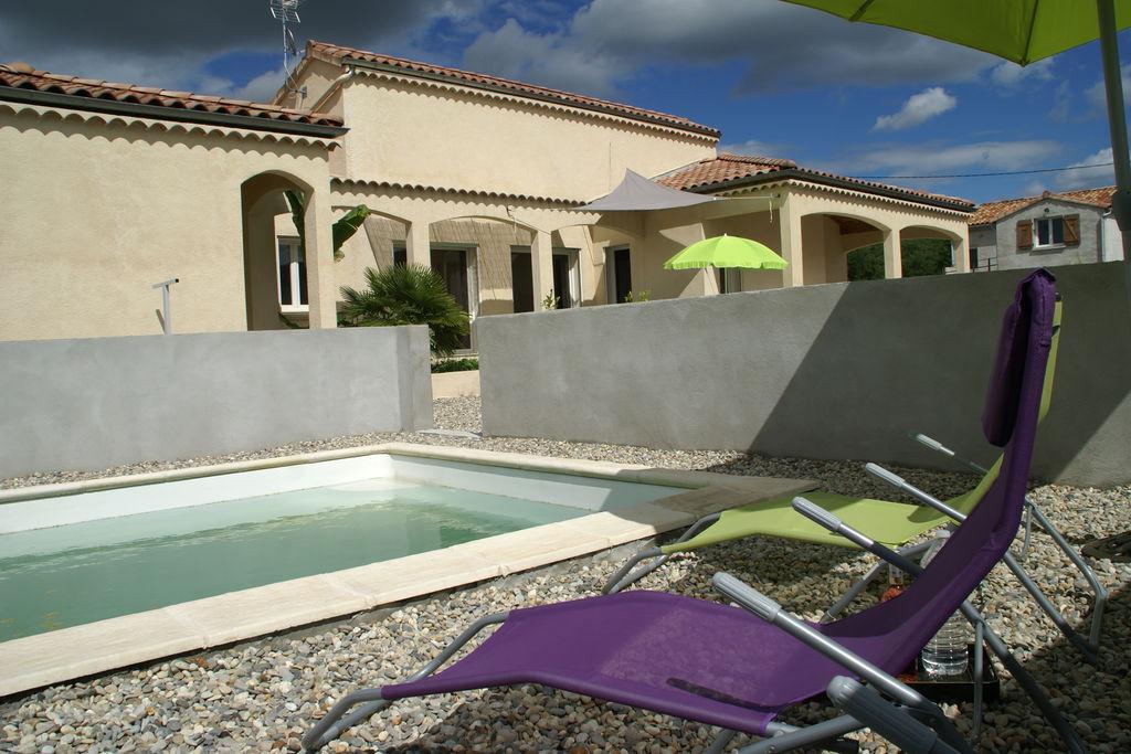 Vakantiewoning huren in Ardeche - met zwembad  met wifi met zwembad voor 8 personen  Dit moderne vakantiehuis met priv�..
