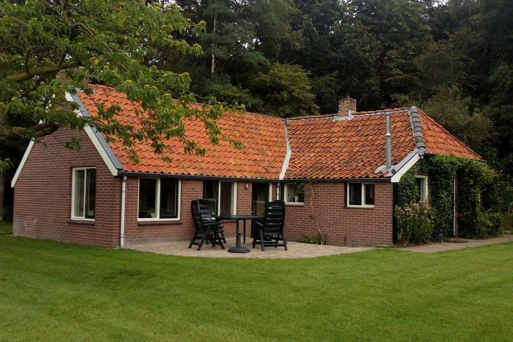 Vintage boswoning in Donkerbroek met privétuin - Boerderijvakanties.nl