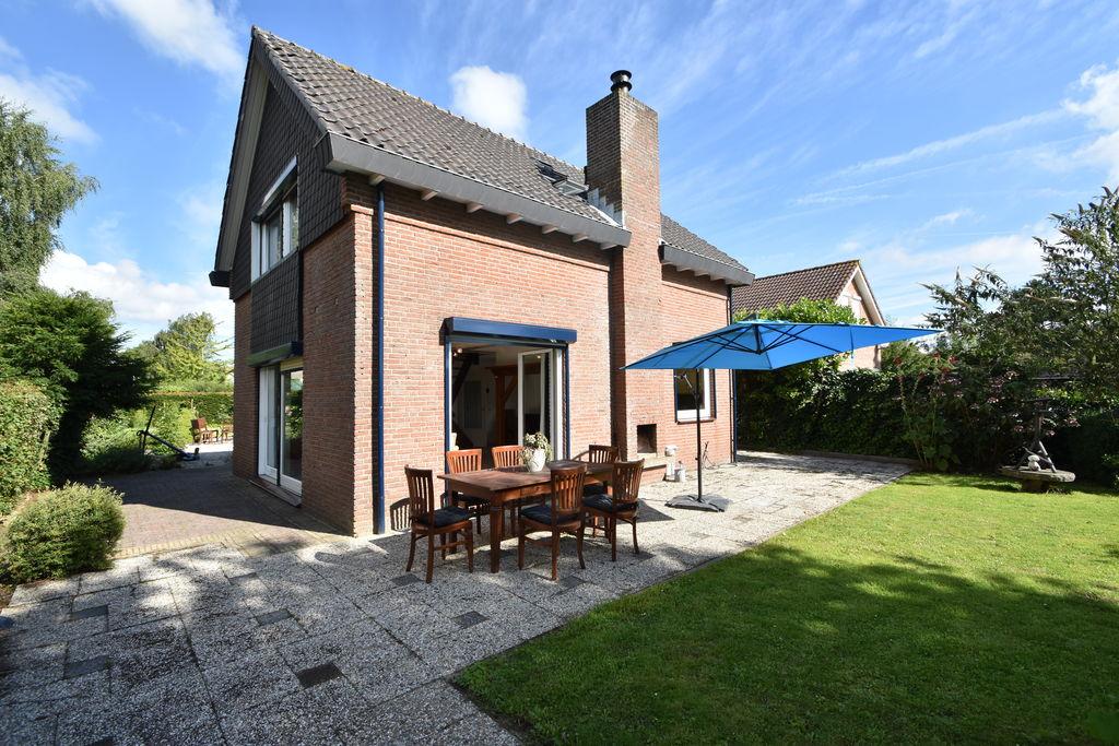Vrijstaand vakantiehuis in Zeeland met wijds uitzicht, veel privacy, grote tuin - Boerderijvakanties.nl