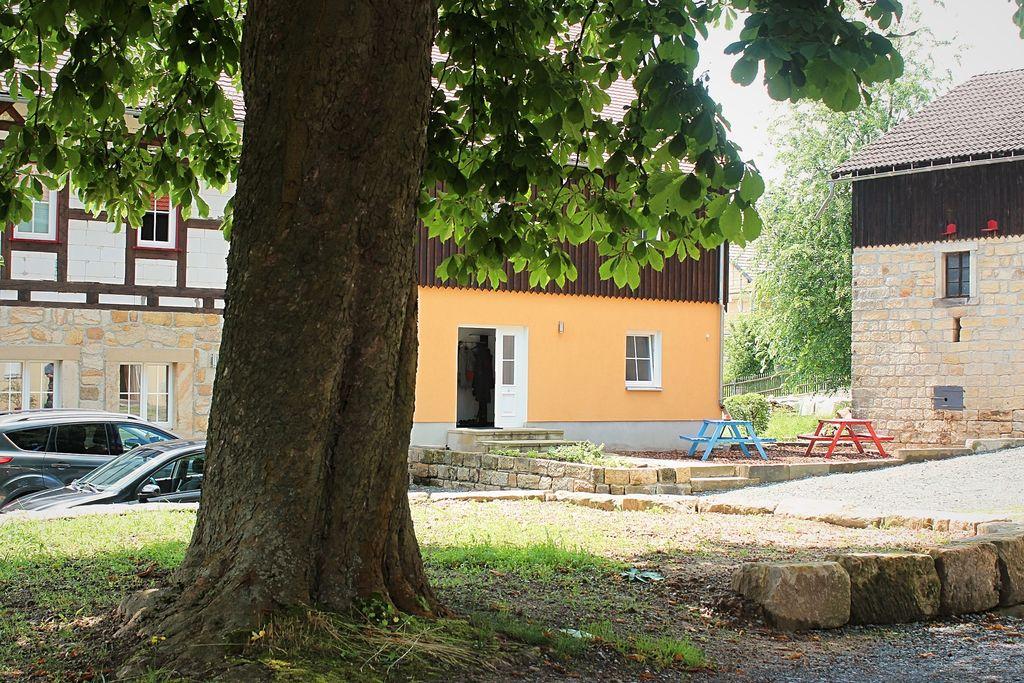 Appartement huren in Saksen -   met wifi  voor 4 personen  Het dorp Weissig ligt midden in he..