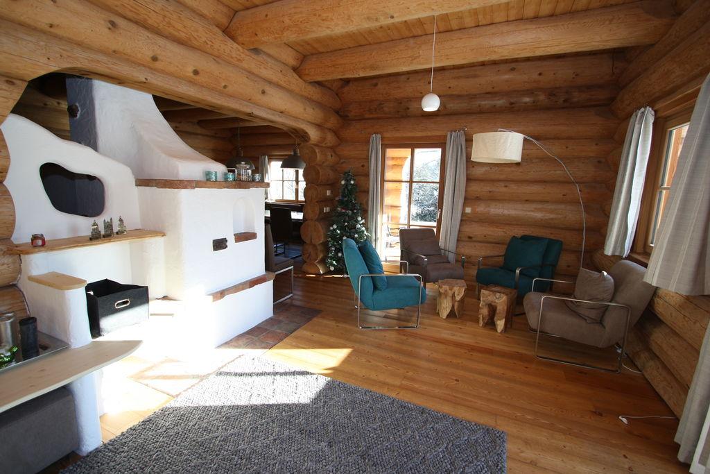 Uniek chalet met een sauna en uitzicht op de Lungau-vallei - Boerderijvakanties.nl