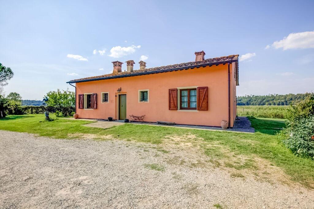 Landelijk appartement in Toscane met een tuin en privéterras - Boerderijvakanties.nl