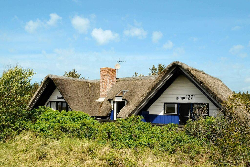 Levendig vakantiehuis in Blåvand met terras