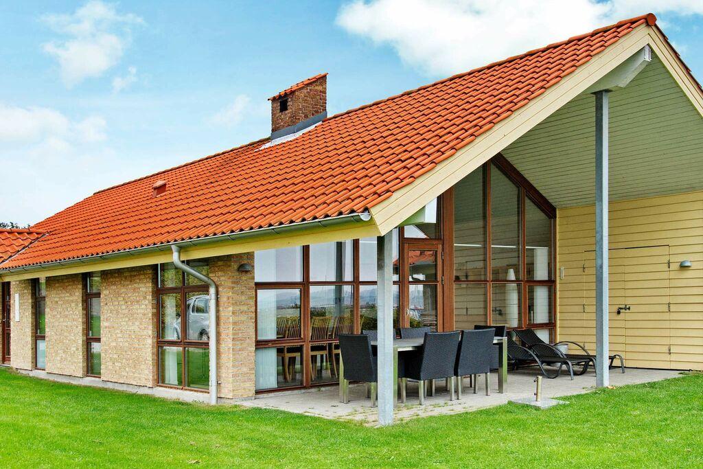 Dromerig vakantiehuis in Egernsund met zeezicht