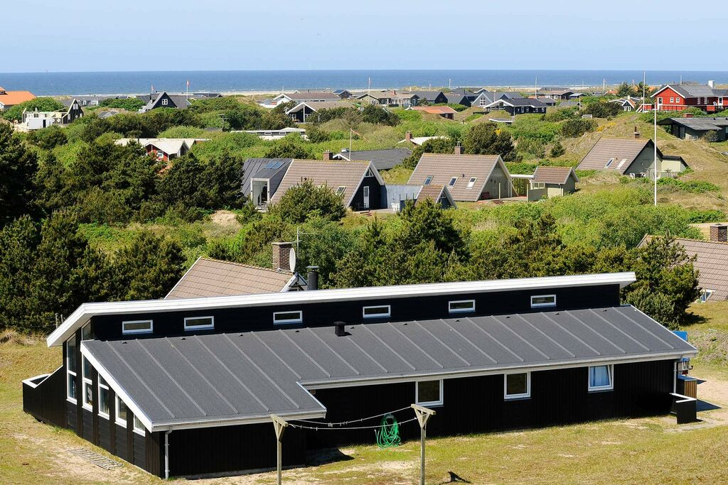 Modern vakantiehuis in Fanø met uitzicht op zee