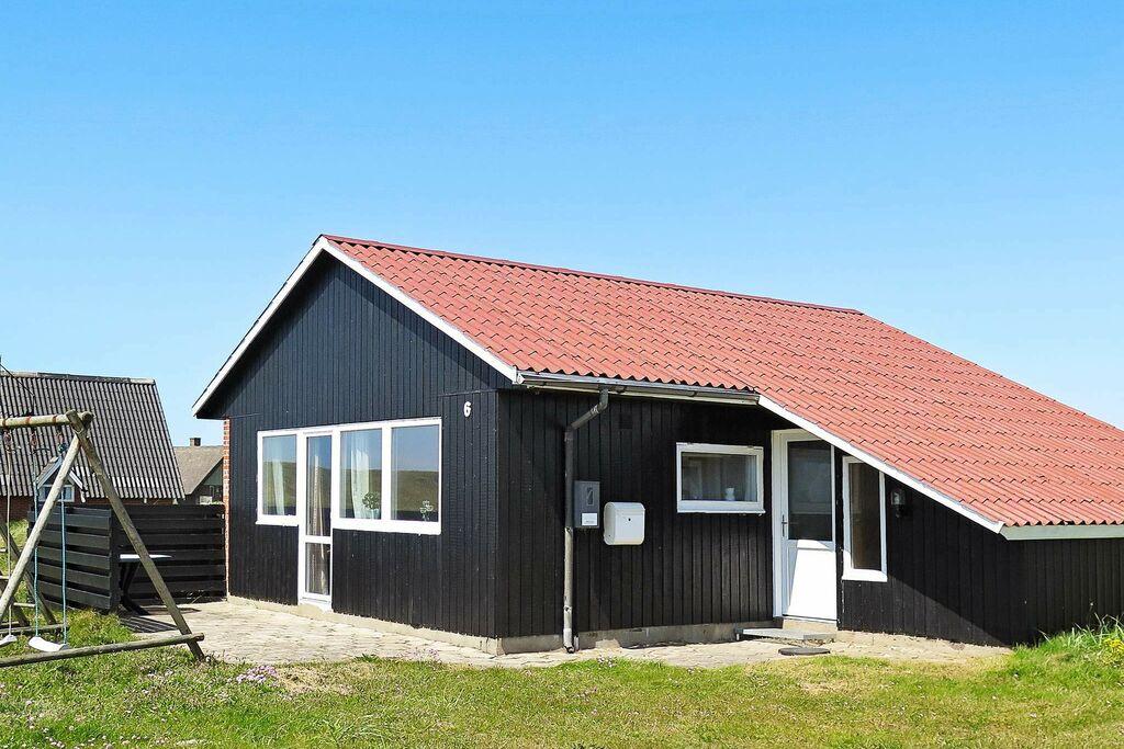 Luxe vakantiehuis in Harboøre met sauna