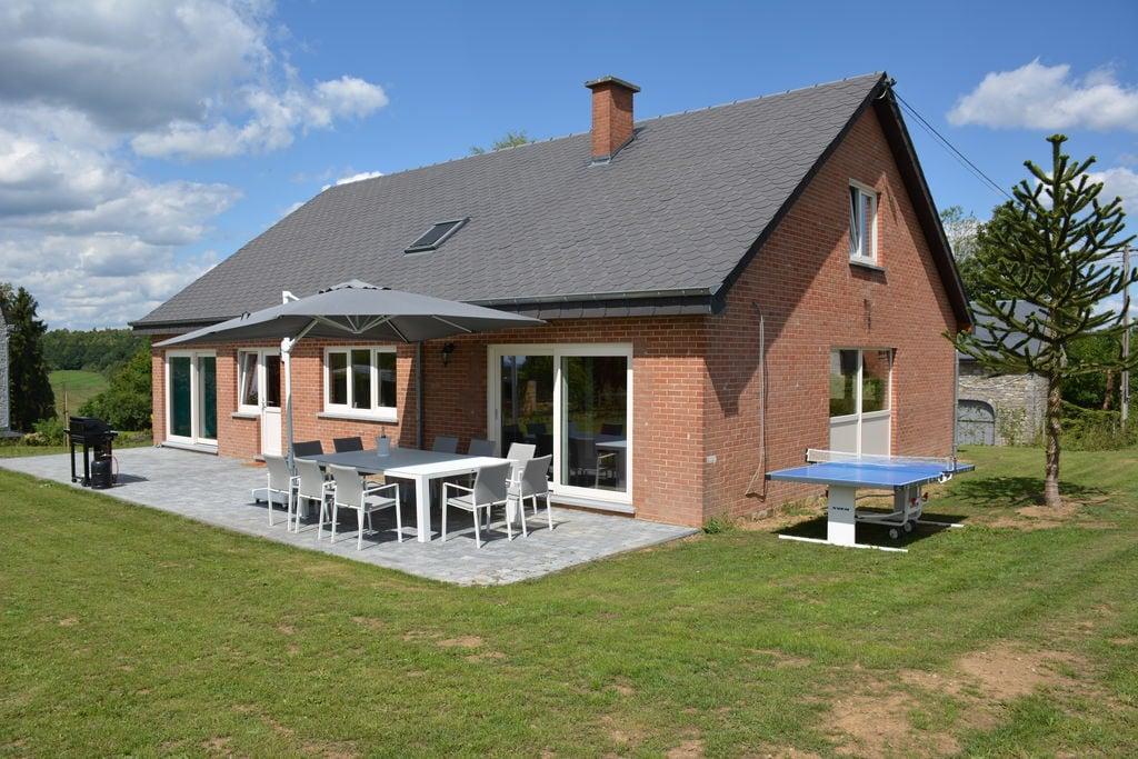 Recente villa voorzien van alle gemakken met prachtige natuur aan tuinzijde - Boerderijvakanties.nl