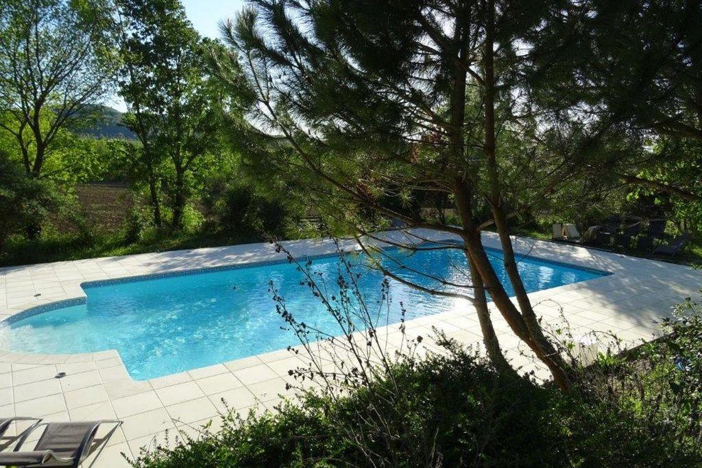 Pont-De-Barret- Vakantiewoning met zwembad  met wifi te huur