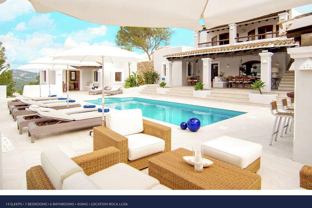 Vakantiewoning  huren Ibiza - Villa ES-00007-56 met zwembad  met wifi