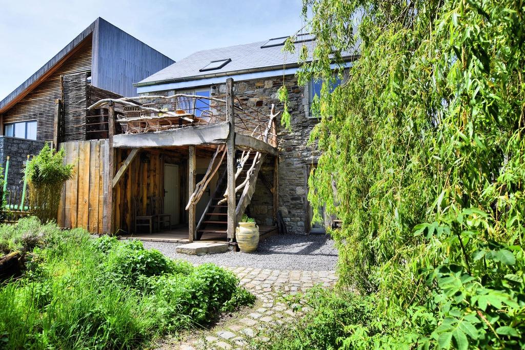 Prachtige, enig-in-zijn-soort woning met sauna en unieke, sfeervolle inrichting - Boerderijvakanties.nl