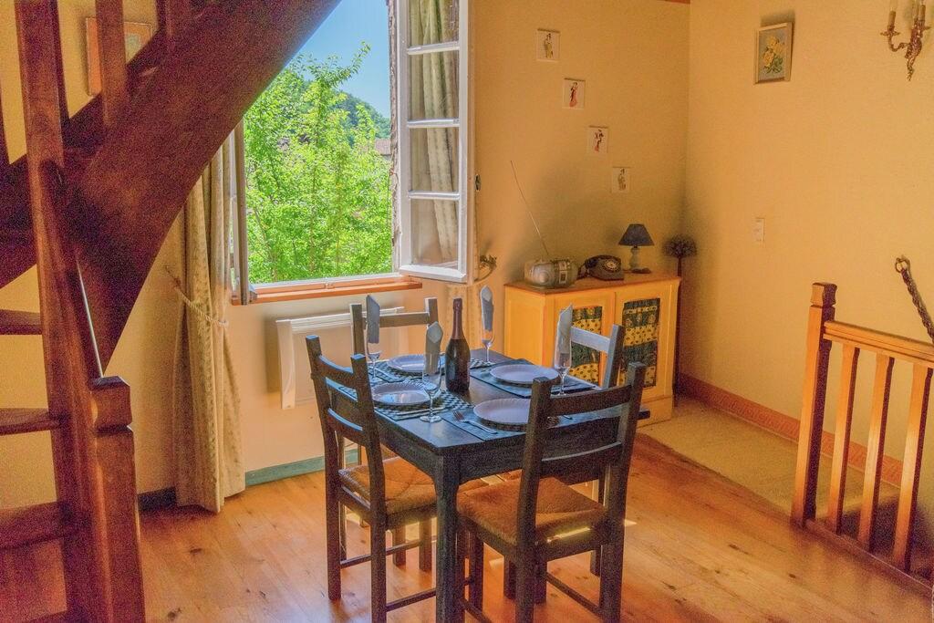 Charmant appartement in Midi-Pyrenees Frankrijk bij rivier - Boerderijvakanties.nl