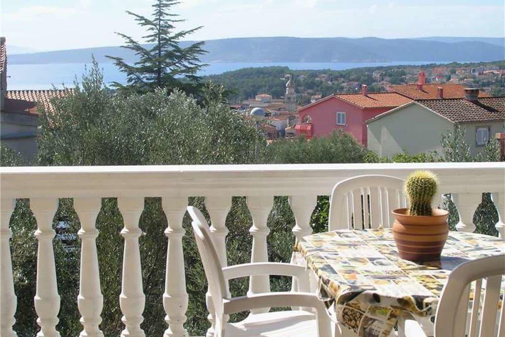 Vakantiewoning Kroatië, eld, Krk Appartement HR-00004-54