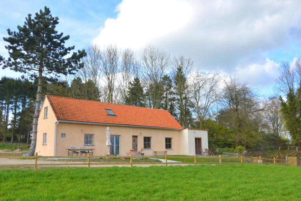 Vakantiewoning huren in Henegouwen -   met wifi  voor 5 personen  Dit huis is een gezellig nest voor..