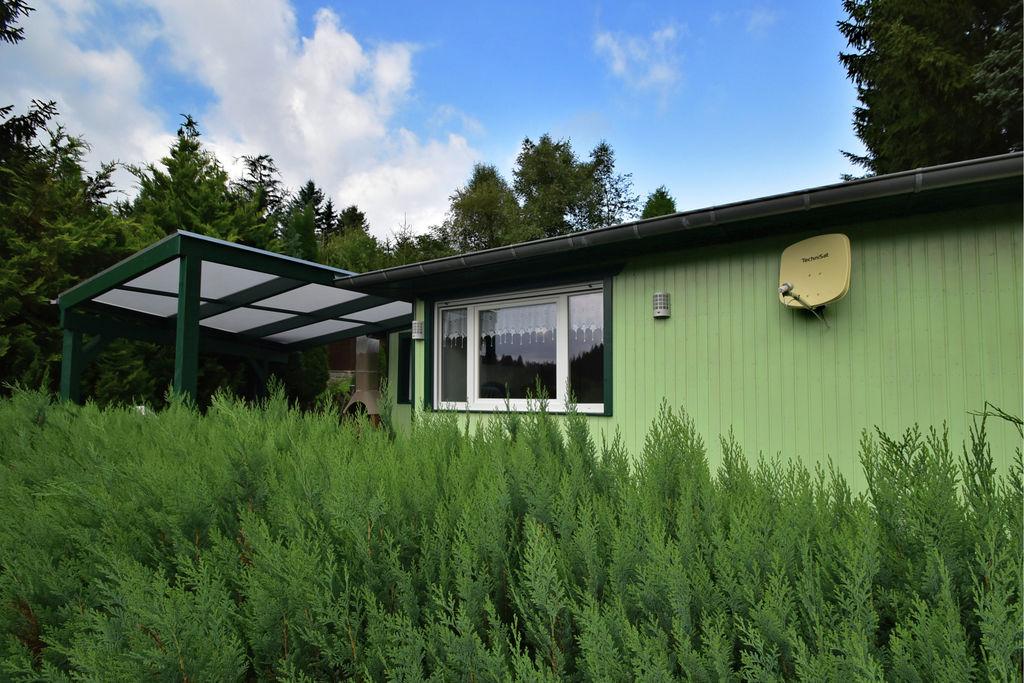 Vrijstaand vakantiehuis met terras, idyllisch gelegen aan bosrand in de Harz. - Boerderijvakanties.nl