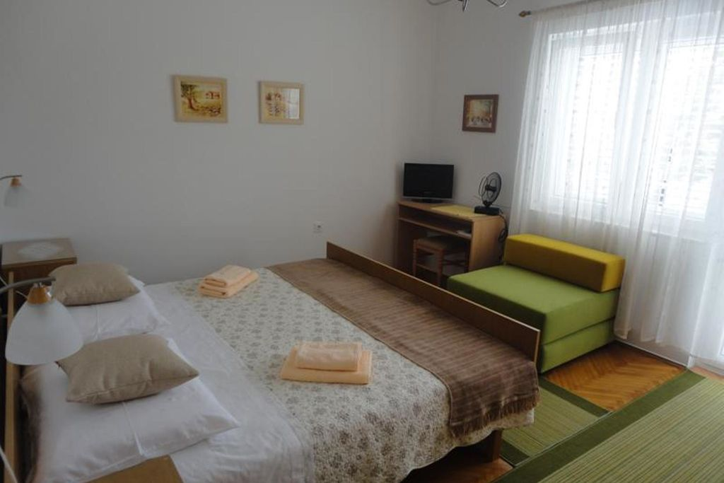 Vakantiewoning Kroatië, eld, Malinska Appartement HR-00006-33