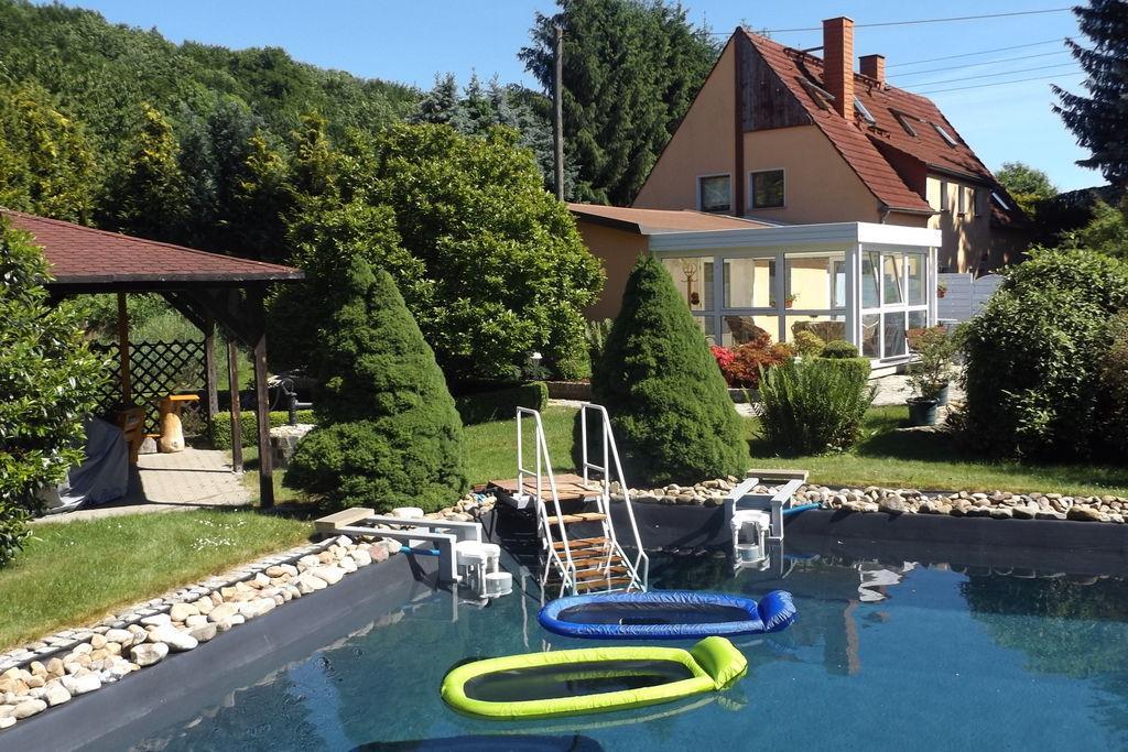 Comfortabele vakantiewoning met eigen terras in Pirna in Saksisch Zwitserland - Boerderijvakanties.nl