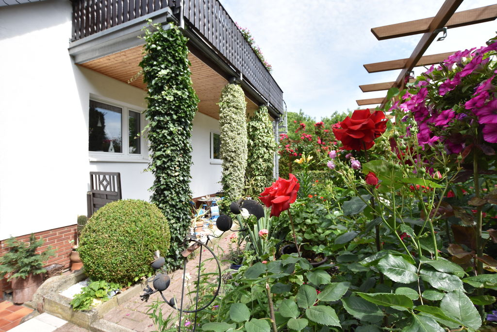 Gezellig appartement in Sudstadt nabij met een gazebo - Boerderijvakanties.nl