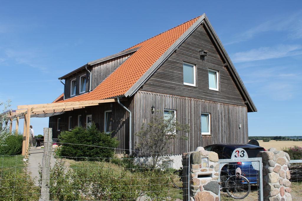 Knus appartement aan de Oostzeekust met een overdekt terras - Boerderijvakanties.nl