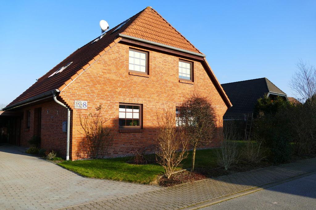 Gezellig appartement in Rövershagen met terras - Boerderijvakanties.nl