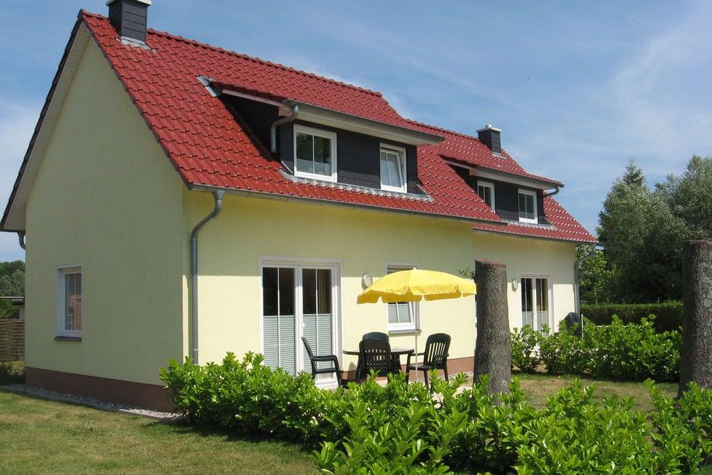 Knus vakantiehuis in Kühlungsborn met sauna - Boerderijvakanties.nl