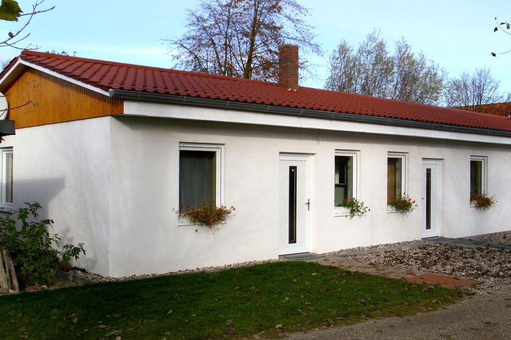 Gezellige bungalow in Börgerende-Rethwisch met een sauna - Boerderijvakanties.nl