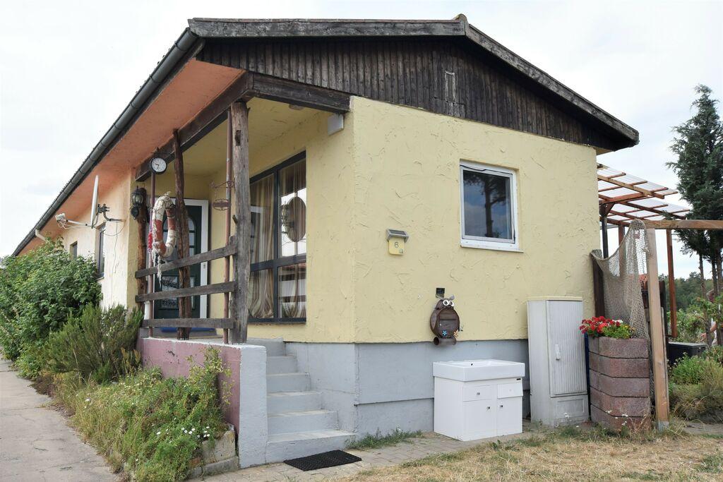Gezellige bungalow in Nakenstorf met een tuin - Boerderijvakanties.nl