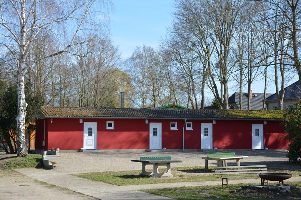 Charmante bungalow in Dahmen met een terras - Boerderijvakanties.nl