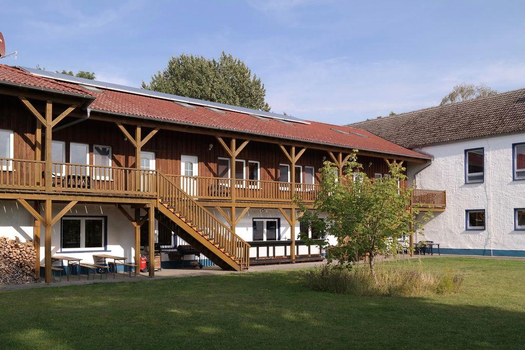 Landelijk vakantiehuis in Boddin met een tuin - Boerderijvakanties.nl