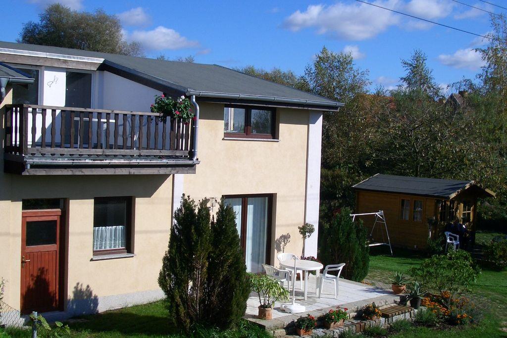 Charmant appartement in Brusow met tuin en terras - Boerderijvakanties.nl