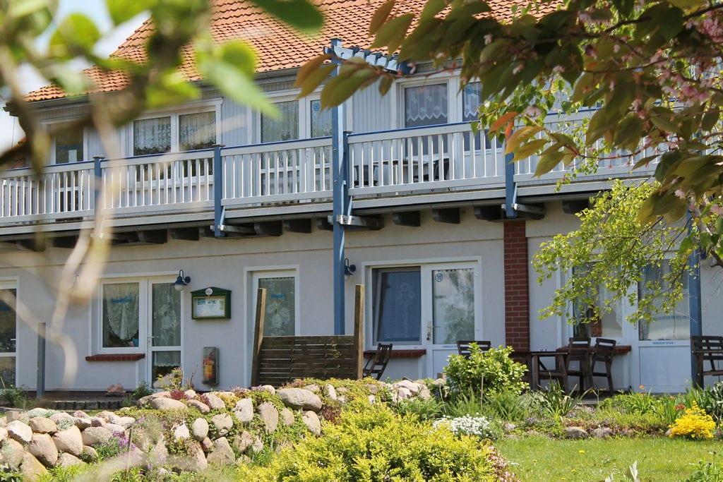 Ruim appartement in Rerik, Duitsland, met zonneweide - Boerderijvakanties.nl