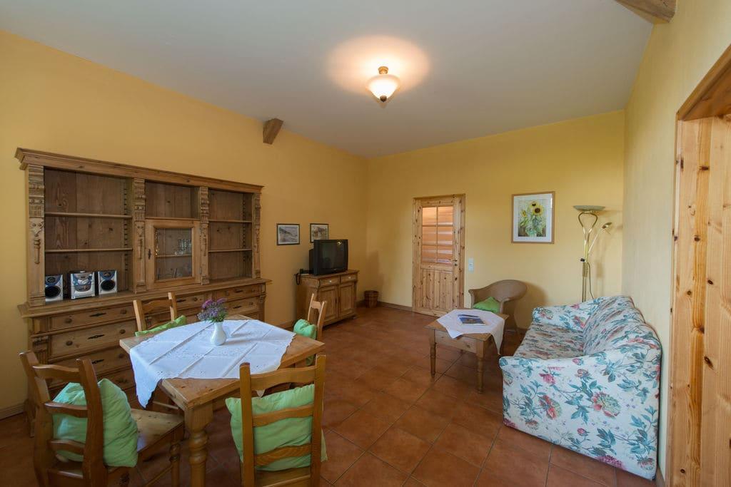 Sfeervol appartement in Rerik met een sauna - Boerderijvakanties.nl