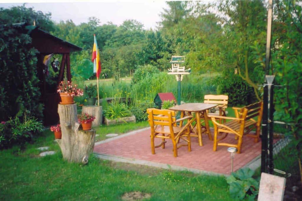 Charmant appartement in Alt Farpen met een tuin en terras - Boerderijvakanties.nl