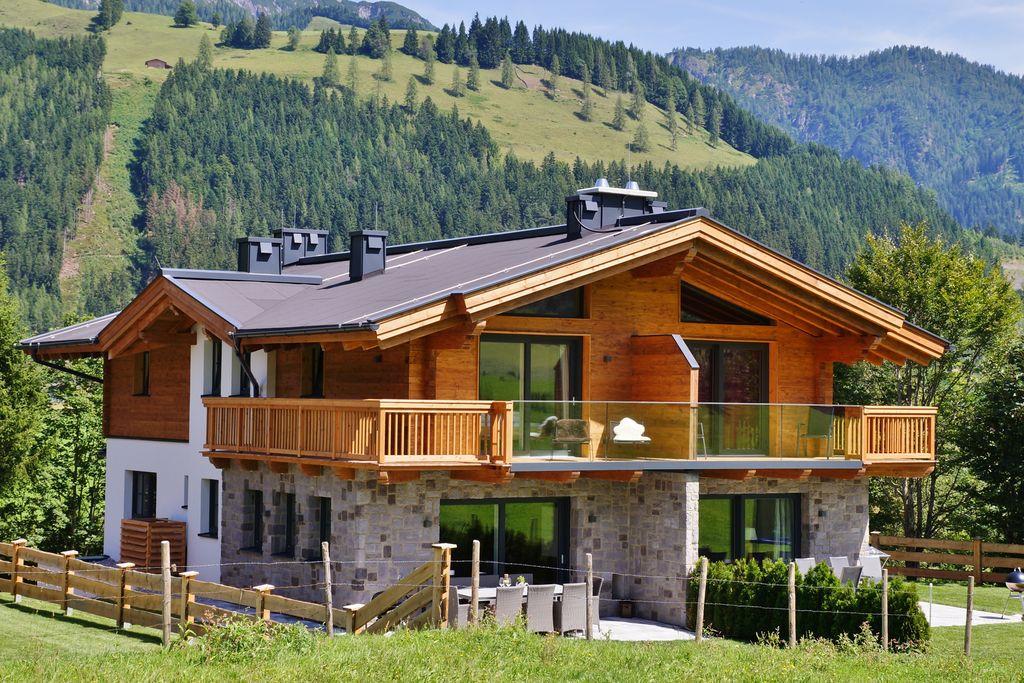 Royaal vakantiehuis met privésauna in Salzburgerland - Boerderijvakanties.nl