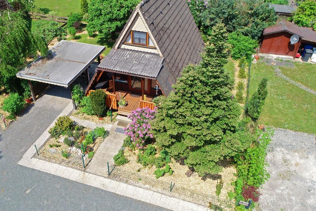 Idyllisch gelegen Finnhaus in het Sauerland met tuin en overdekt terras - Boerderijvakanties.nl